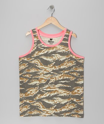 Green & Gray Tiger Tank