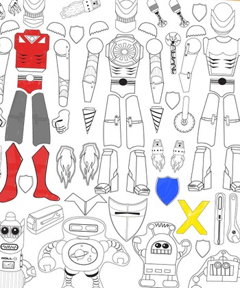 Design a Robot Color Me Peel & Play Art Set