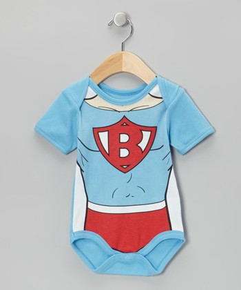 Light Blue Super Baby Bodysuit - Infant