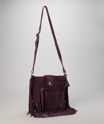 Plum Valerie Crossbody Bag