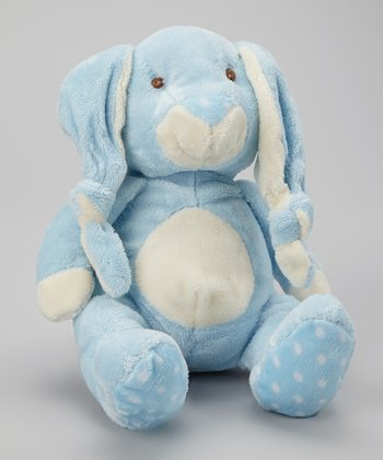 Blue Knotted Ear Bunny Plush Toy