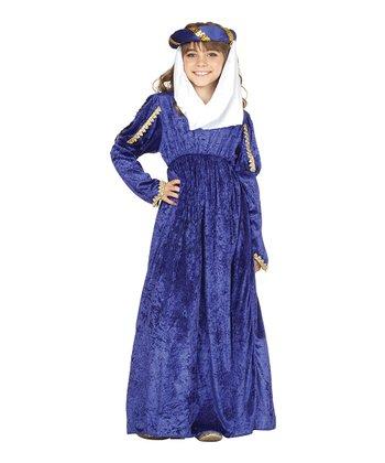 RG Costumes Blue Renaissance Princess Dress-Up Set - Kids