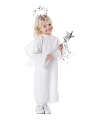 White Lil' Angel Dress-Up Outfit - Infant & Toddler