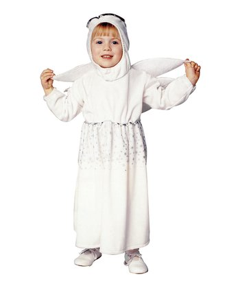 White Angel Wing Dress-Up Outfit - Infant & Toddler