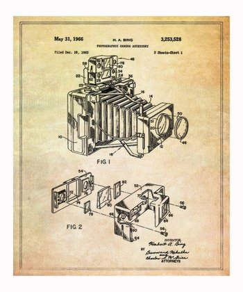 Polaroid Camera Accessory 1966 Art Print