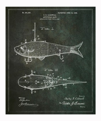 'Artificial Bait' Wall Art Print