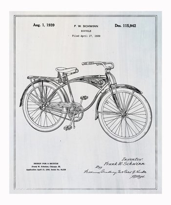 Schwinn Bicycle Art Print