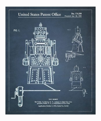 Toy Robot Ideal Robert 1955 Art Print