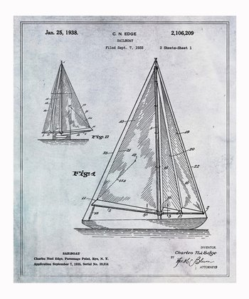 Sailboat Wall Print