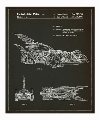 Batmobile 1996 Art Print