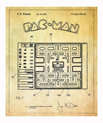 Pac-Man Game 2003 Art Print