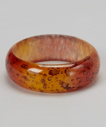 Yellow Resin Bangle