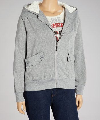 Heather Gray Hoodie