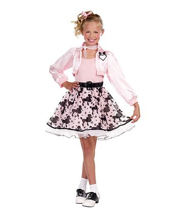 Pink Pretty Poodle Dress-Up Set - Girls