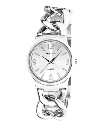 Silver The Bracelet Watch