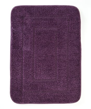 Purple Splash Bath Mat