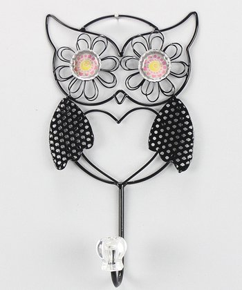 Metal Owl Wall Hook