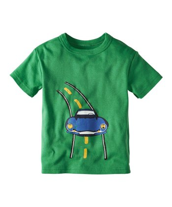 Paint Green Transport Organic Tee - Infant, Toddler & Boys