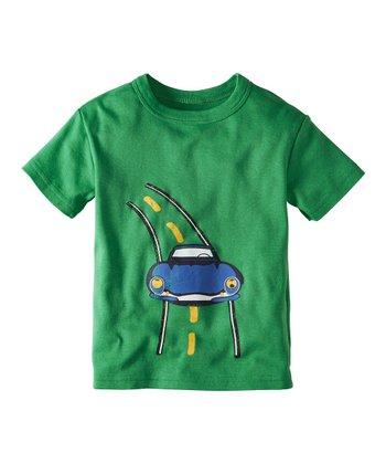 Paint Green Transport Organic Tee - Infant, Toddler & Boys