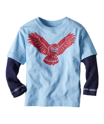 Blue Hills Snow Critter Layered Tee - Infant, Toddler & Boys