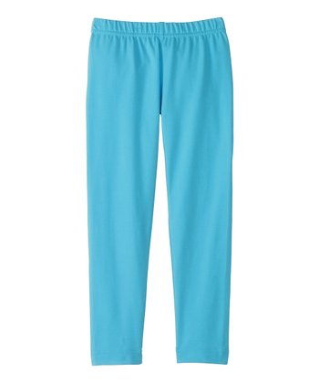 Caribbean Blue Livable Leggings - Infant, Toddler & Girls