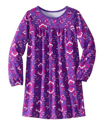 Perfect Purple Floral Play Dress - Infant, Toddler & Girls
