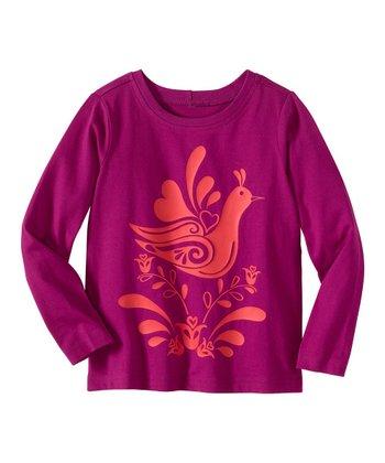 Theater Purple Art Tee - Infant, Toddler & Girls