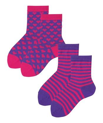 Perfect Purple & Rosy Dawn Mix-A-Lot Socks Set