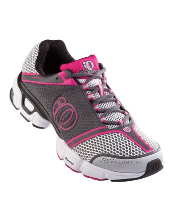 Shadow Gray & Pink Punch Syncro Float IV Running Shoe