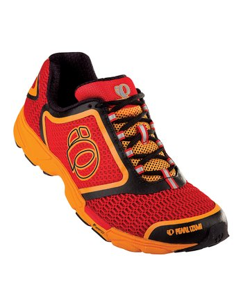 Black & Red Streak II Running Shoe - Men