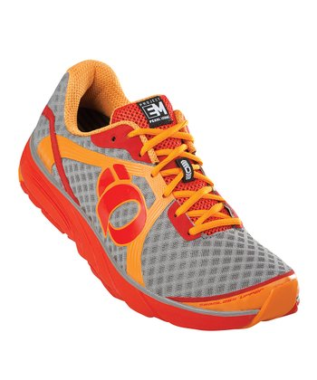Safety Orange & Red EM Road H3 Running Shoe - Men