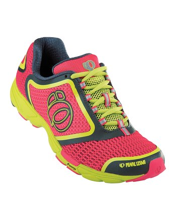 Paradise Pink & Shadow Gray Streak II Running Shoe - Women