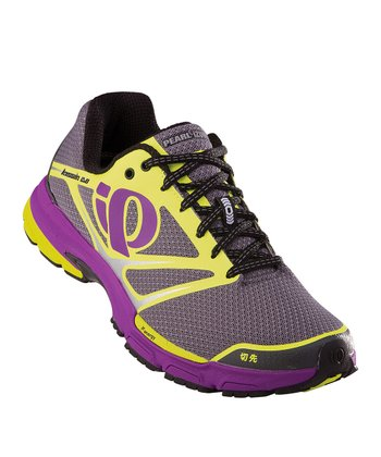 Shadow Gray & Screaming Yellow Kissaki 2.0 Running Shoe - Women