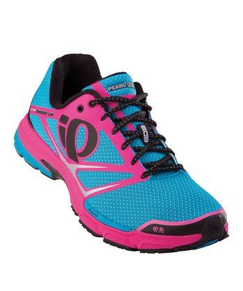 Shadow Gray & Electric Pink Kissaki 2.0 Running Shoe - Women
