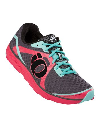 Paradise Pink & Shadow Gray EM Road H3 Running Shoe - Women