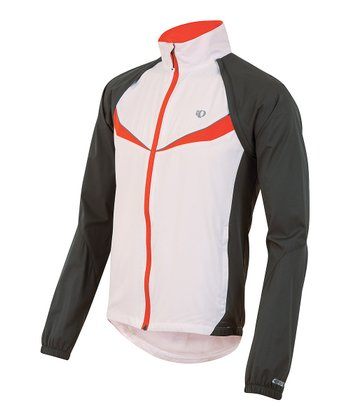 Gray & Orange Elite Barrier Jacket - Men
