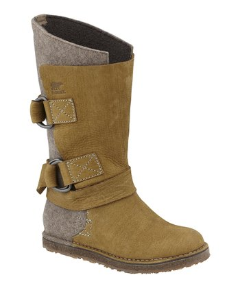 Truffle Chipahko Felt Boot - Women