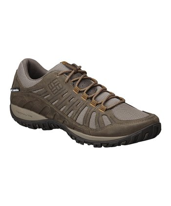 Pebble & Suntan Peakfreak Enduro Trail Running Shoe - Men