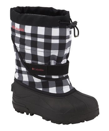 Black & Afterglow Powderbug Plus II Outdry Boot - Kids