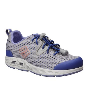 Light Gray & Zing Drainmaker II All-Terrain Shoe - Kids