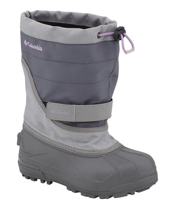 Charcoal & Hydrangea Powderbug Plus II Boot - Kids