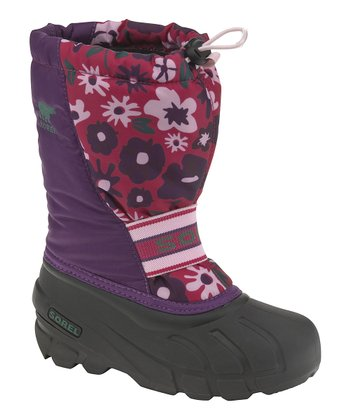 Gloxinia & Bright Rose Cub Boot - Kids