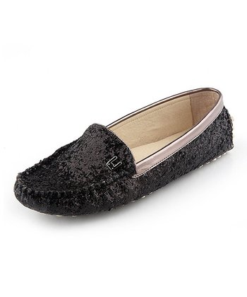 Black Glazer Loafer - Women