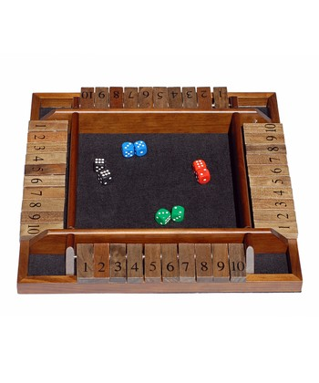 Four-Player Shut the Box