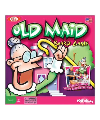 Old Maid Board Game
