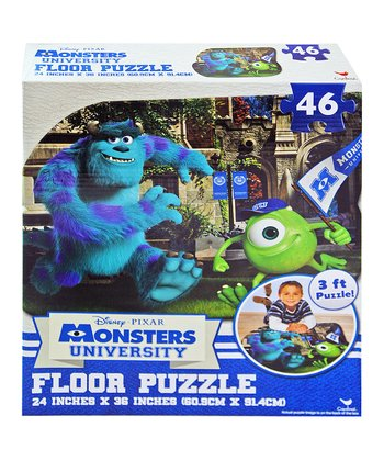 Monsters University Floor Puzzle