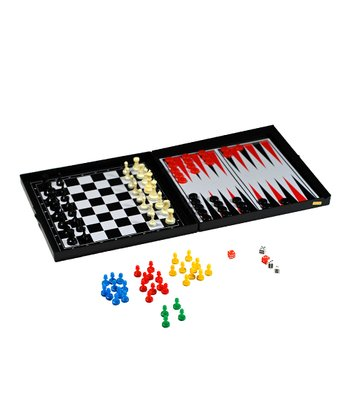 Five-in-One Magnetic Game Set