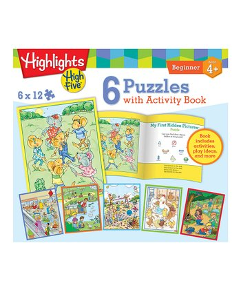 Highlights Puzzle & Activity Book Set
