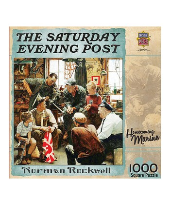 Norman Rockwell Homecoming Marine Puzzle