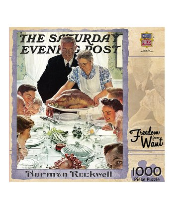 Norman Rockwell Freedom from Want Puzzle